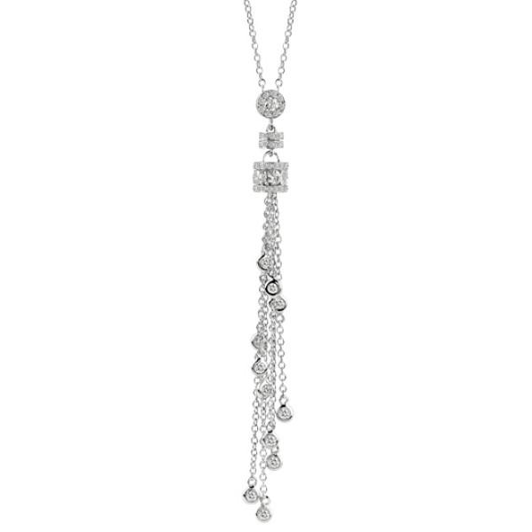 Ожерелье Damiani Belle Epoque белое золото, бриллианты (20056262)