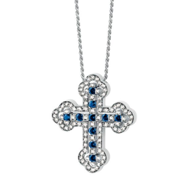Подвеска Damiani Belle Epoque белое золото, бриллианты, сапфиры (20026305)