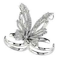 Бабочка Damiani Butterfly белое золото, бриллианты (20053581)