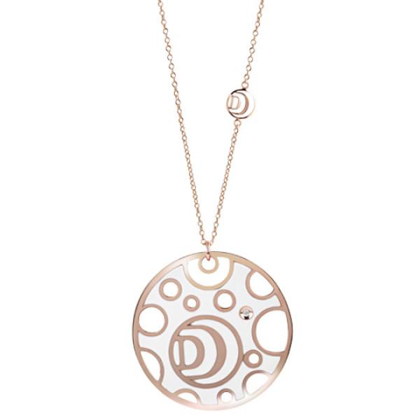 Колье Damiani Damianissima розовое золото, бриллианты (20058571)