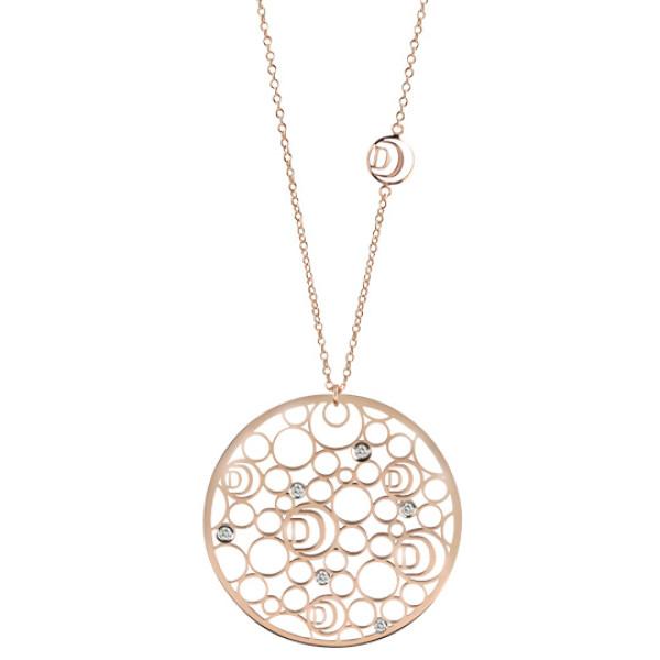 Подвеска Damiani Damianissima розовое золото, бриллианты (20058575)