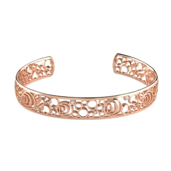 Браслет Damiani Damianissima розовое золото, бриллианты (20058584)