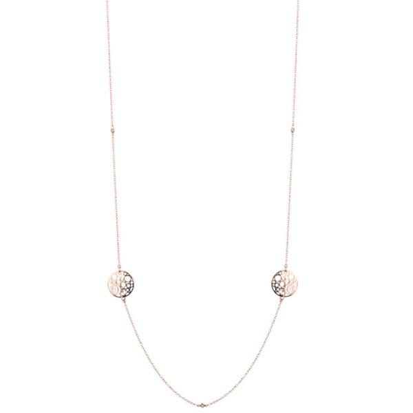 Колье Damiani Damianissima розовое золото, бриллианты (20058630)