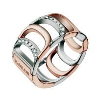 Кольцо Damiani Damianissima, белое и розовое золото, бриллианты (20023965)