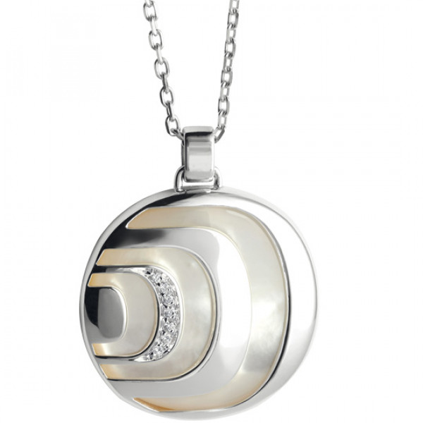 Подвеска Damiani Damianissima.925 серебро, бриллианты, перламутр (20042000)