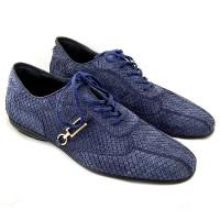 Спортивные туфли Zilli, кожа питона