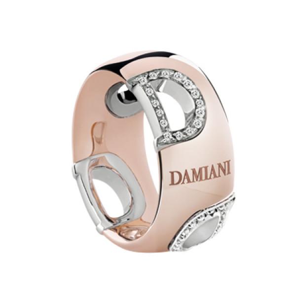 Кольцо Damiani D.Icon, розовое золото, бриллианты (20047336)