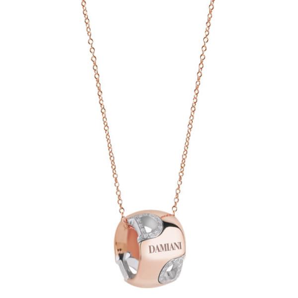 Ожерелье Damiani D.Icon, белое и розовое золото, бриллианты (20047337)
