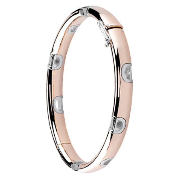Браслет Damiani D.Icon, белое и розовое золото, бриллиант (20054389)