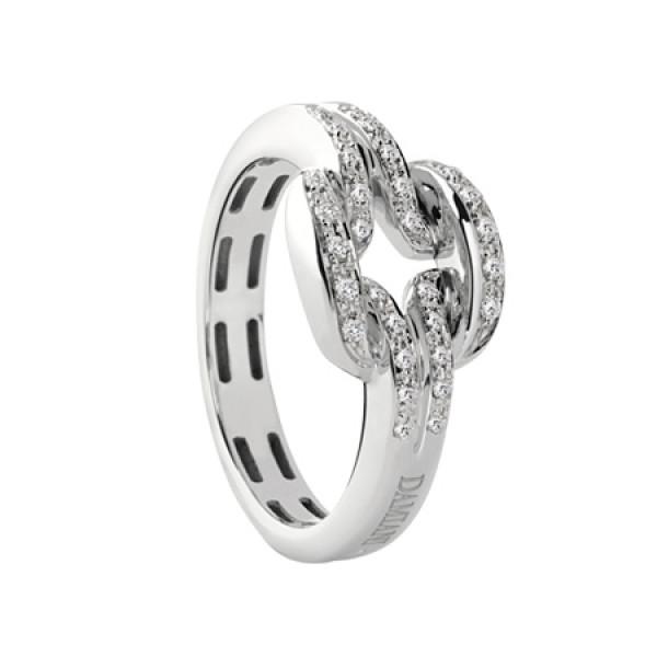 Кольцо Damiani D.Lace, белое золото, бриллианты (20054846)