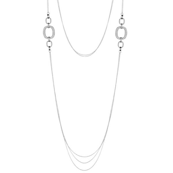 Ожерелье Damiani D.Lace, белое золото, бриллианты (20056622)