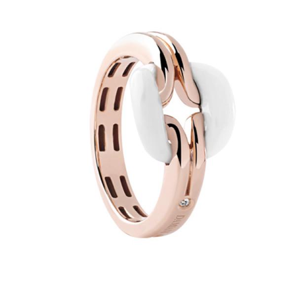 Кольцо Damiani D.Lace, розовое золото, агат (20055259)