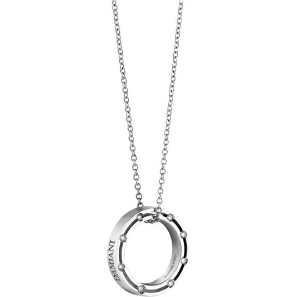 Подвеска Damiani D.Side, белое золото, бриллианты (20037093)