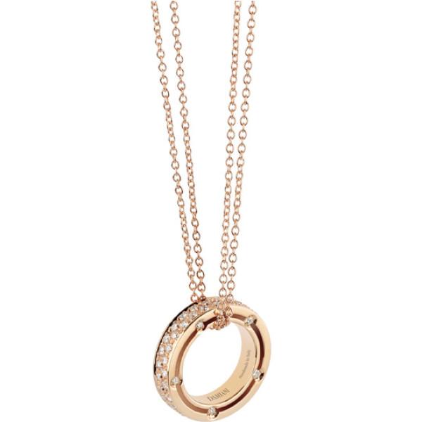 Подвеска Damiani D.Side, розовое золото, бриллианты (20028362)