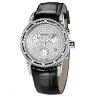 Часы Damiani D.Side, белое золото, бриллианты (30002523)