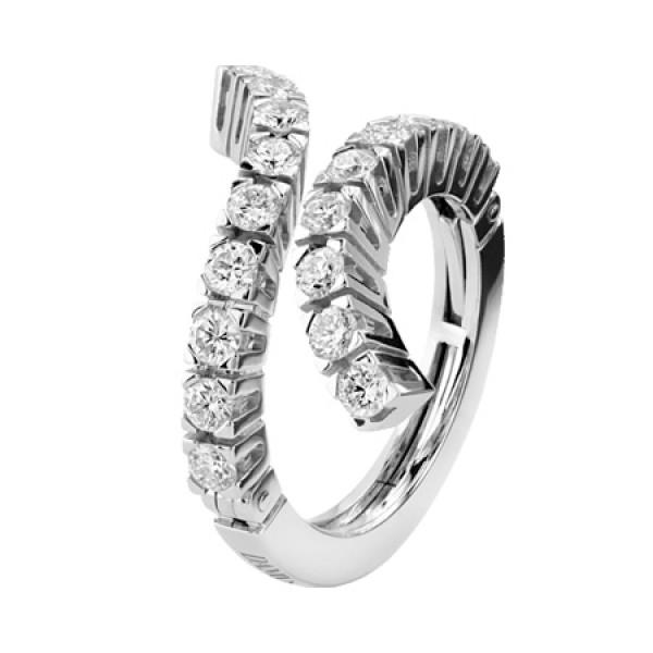 Кольцо Damiani Eden, белое золото, бриллианты (20047462)