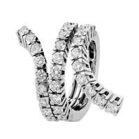 Кольцо Damiani Eden, белое золото, бриллианты (20049722)