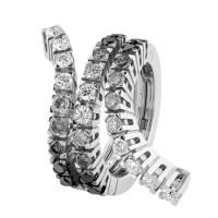 Кольцо Damiani Eden, белое золото, бриллианты (20047460)