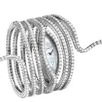 Часы Damiani Eden Masterpiece, белое золото, бриллианты (20047461)