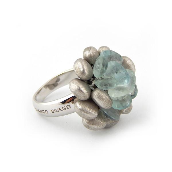 Кольцо Marco Bicego, белое золото 750