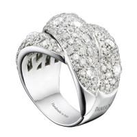 Кольцо Damiani Gomitolo, белое золото, бриллианты (20039242)