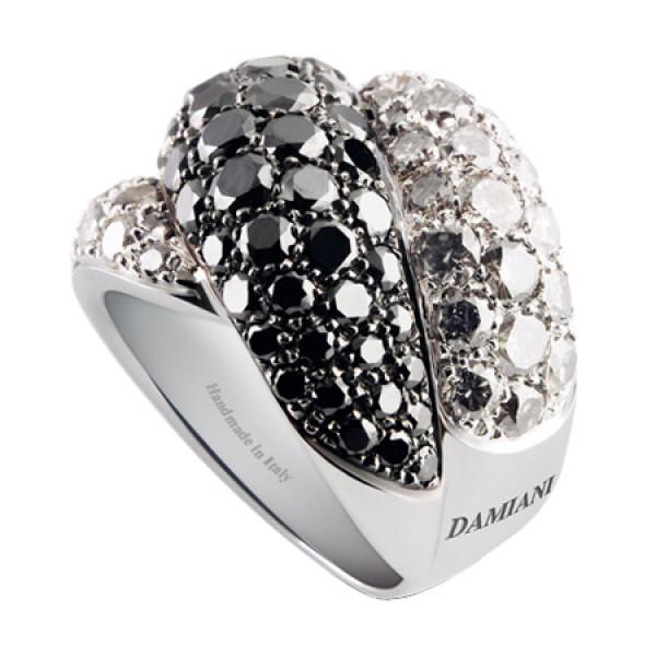Кольцо Damiani Gomitolo, белое золото, бриллианты (20032199)