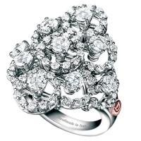 Кольцо Damiani Juliette, белое золото, бриллианты (20021230)