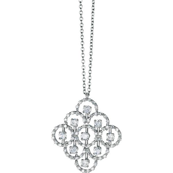Подвеска Damiani Juliette, белое золото, бриллианты (20021232)