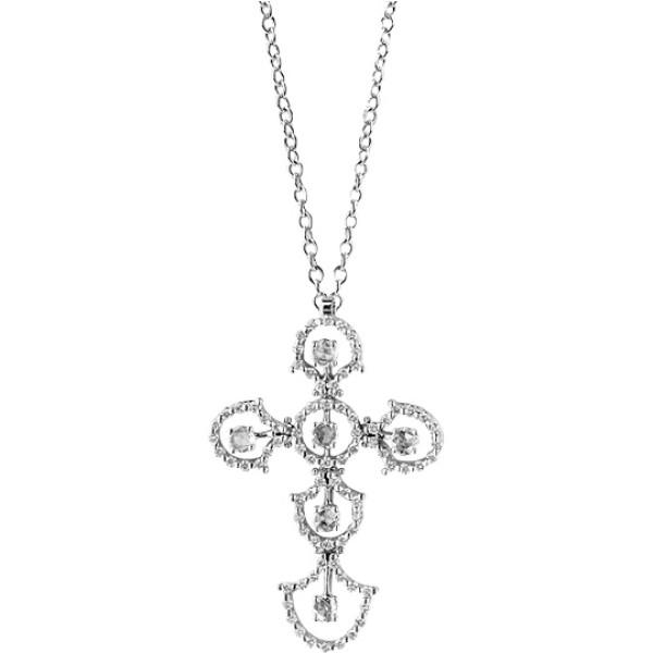 Подвеска Damiani Juliette, белое золото, бриллианты (20030441)