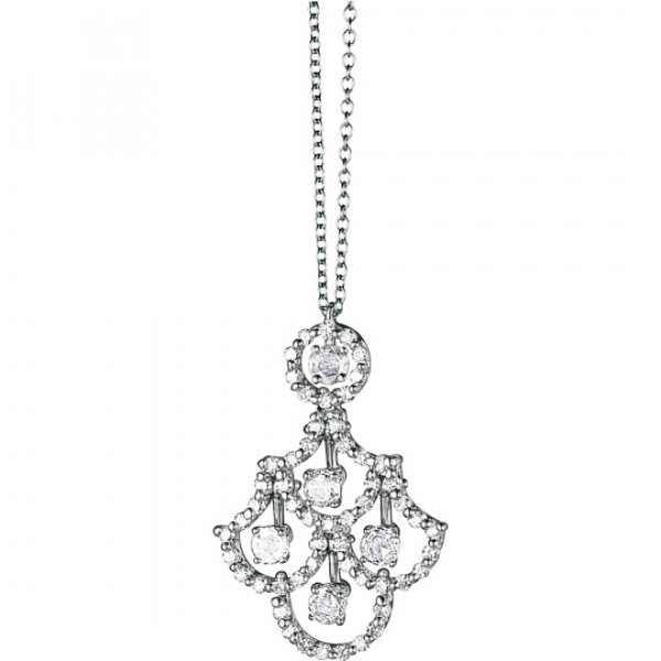 Подвеска Damiani Juliette, белое золото, бриллианты (20021455)