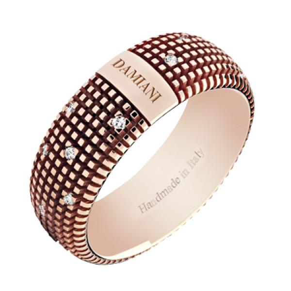 Кольцо Damiani Metropolitan Dream розовое золото, бриллианты (20048345)