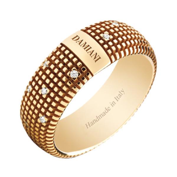 Кольцо Damiani Metropolitan Dream желтое золото, бриллианты (20048391)