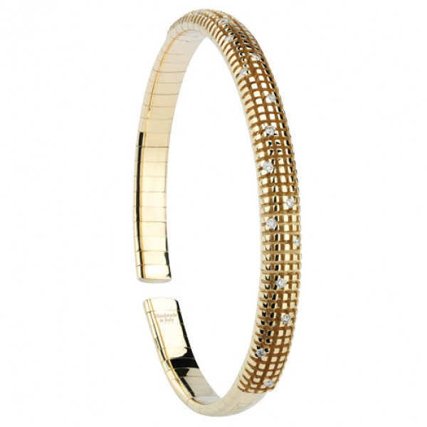 Браслет Damiani Metropolitan Dream желтое золото, бриллианты (20037186)