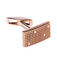 Запонки Damiani Metropolitan Dream розовое золото, бриллианты (20038623)