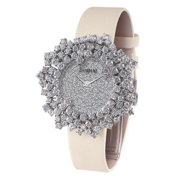 Часы Damiani Mimosa белое золото, бриллианты (30017674)