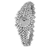 Часы Damiani Mimosa белое золото, бриллианты (30018682)