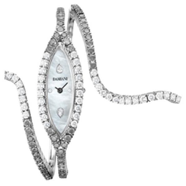 Часы Damiani Eden Black, белое золото, бриллианты (30018055)