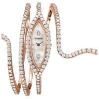 Часы Damiani Eden Brown, розовое золото, бриллианты (30018052)