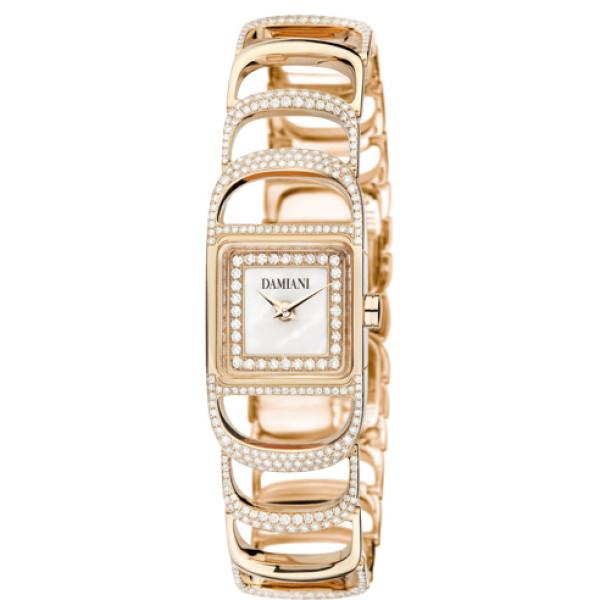Часы Damiani Damianissima, розовое золото, бриллианты (30002842)