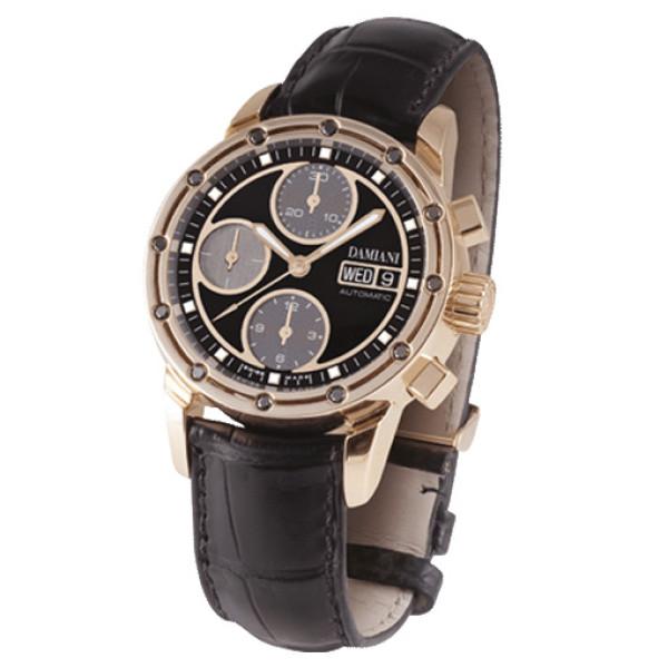 Часы Damiani D.Side, розовое золото, бриллианты (30017681)