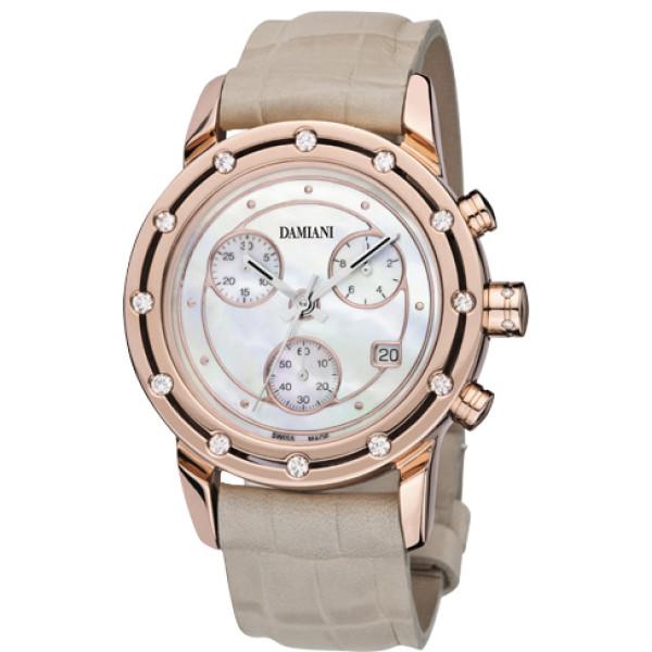 Часы Damiani D.Side, розовое золото, бриллианты (30002520)