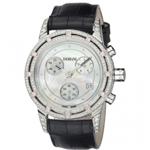 Часы Damiani D.Side, белое золото, бриллианты (30002522)