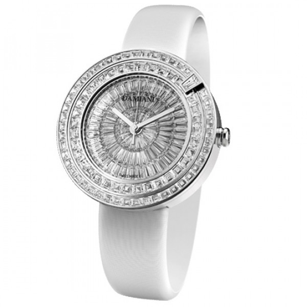 Часы Damiani Belle Epoque Masterpiece белое золото, бриллианты (30018681)