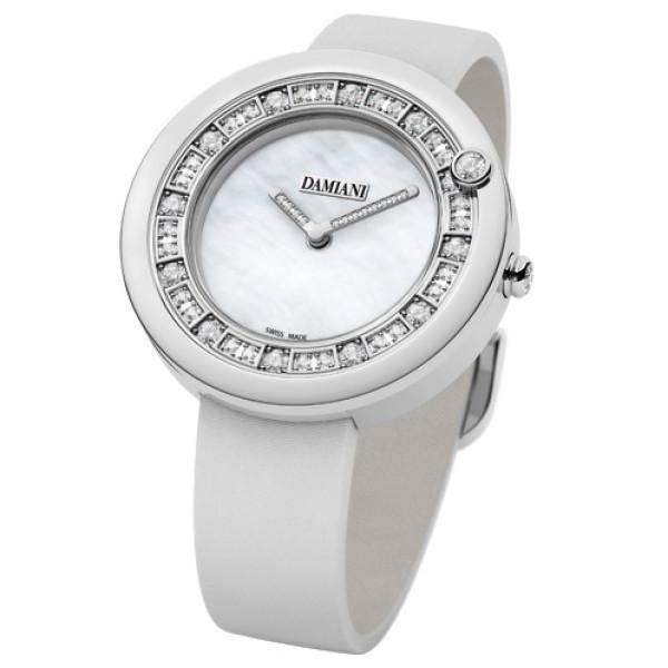 Часы Damiani Belle Epoque белое золото, бриллианты (30002910)