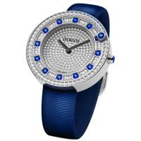 Часы Damiani Belle Epoque белое золото, бриллианты, сапфиры (30002914)