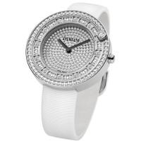 Часы Damiani Belle Epoque белое золото, бриллианты (30012002)