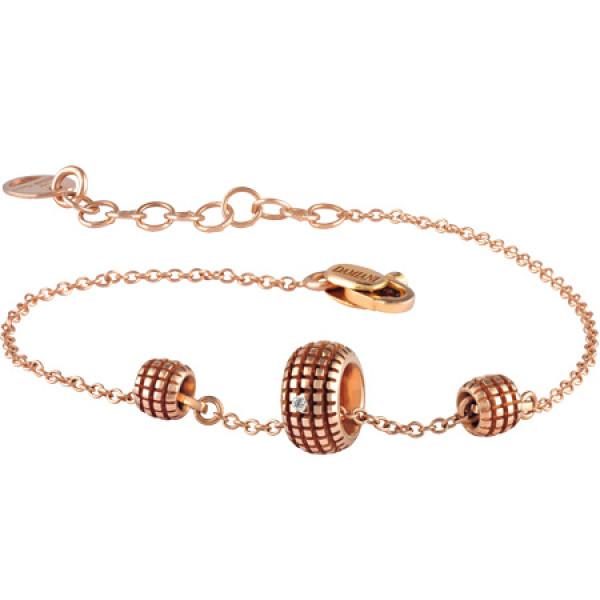 Браслет Damiani Mini Must розовое золото, бриллиант (20041978)