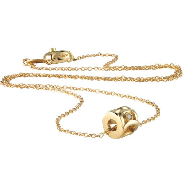 Подвеска Damiani Mini Must желтое золото, бриллиант (20041974)