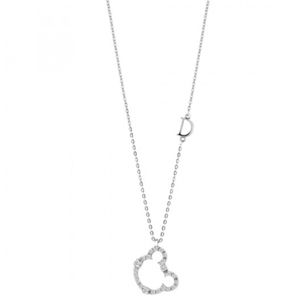 Подвеска Damiani Mini Symbols белое золото, бриллианты (20046008)