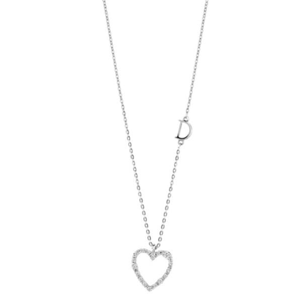 Подвеска Damiani Mini Symbols белое золото, бриллианты (20046011)